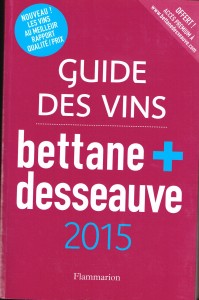 GUIDE DES VINS BETTANE+DESSEAUVE 2015 001