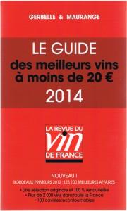 GUIDE DES VINS DE - 20€ 001