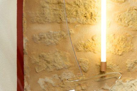 Eclairage du salon résolument design / Details resolutely design